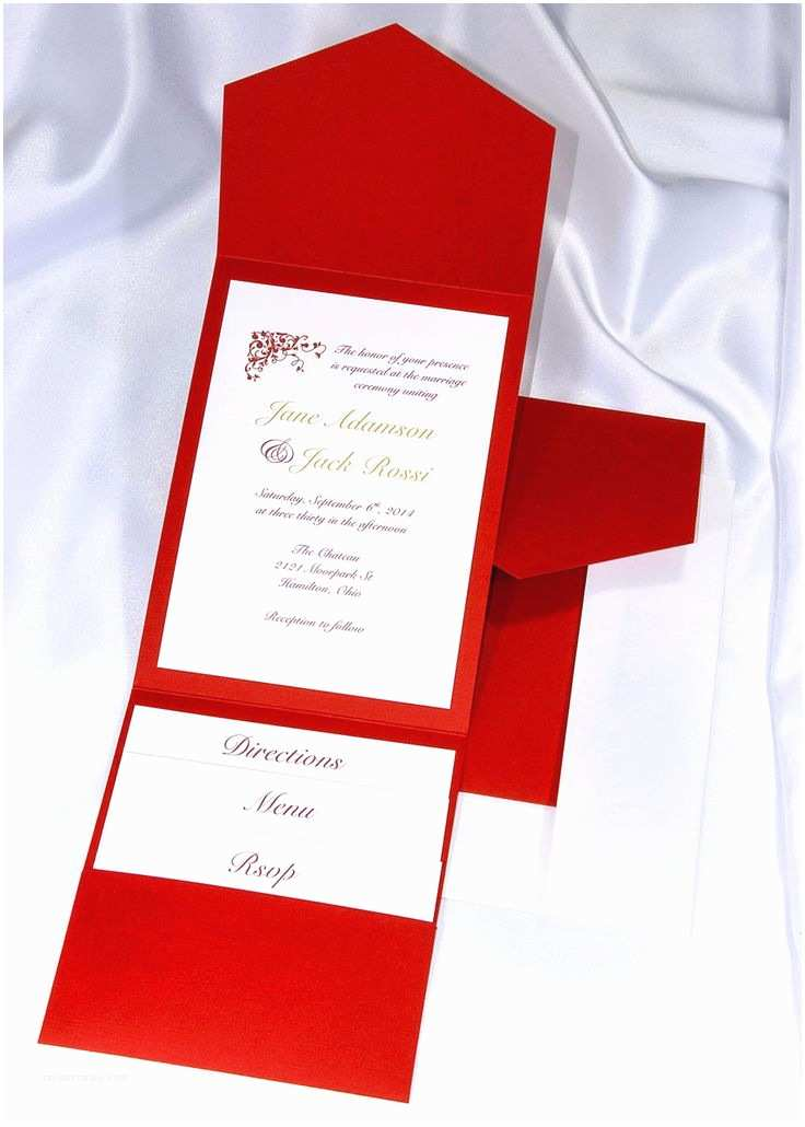 Wedding Invitation Kits Best 25 Red Wedding Invitations Ideas On Pinterest