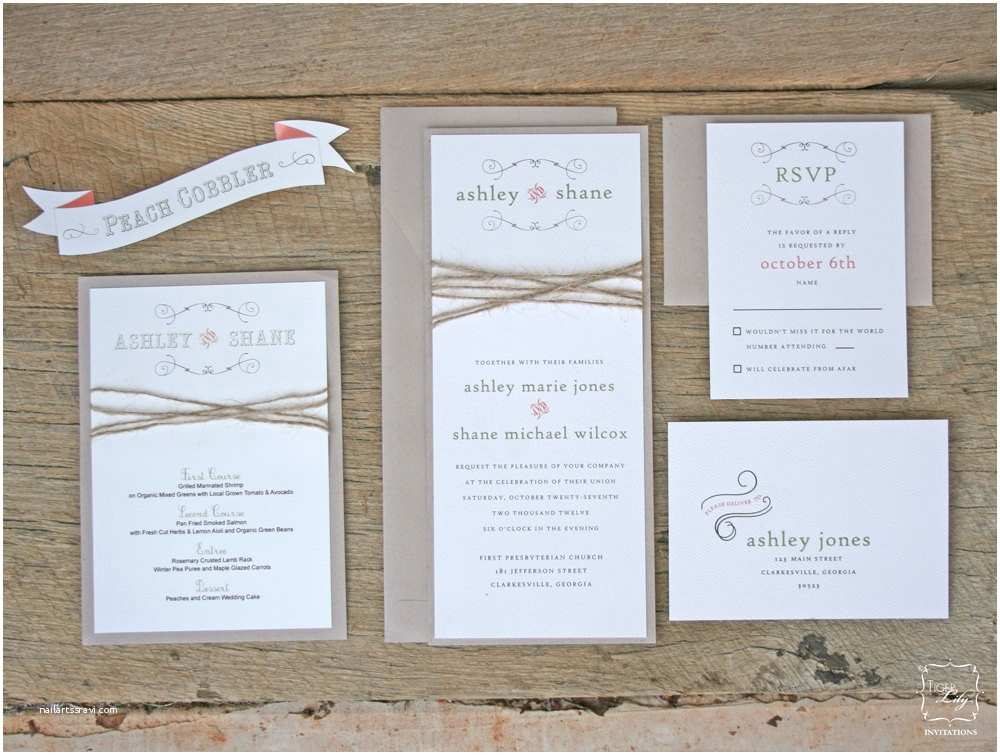 Wedding Invitation Kits Jaw Dropping Rustic Wedding Invitation Kits
