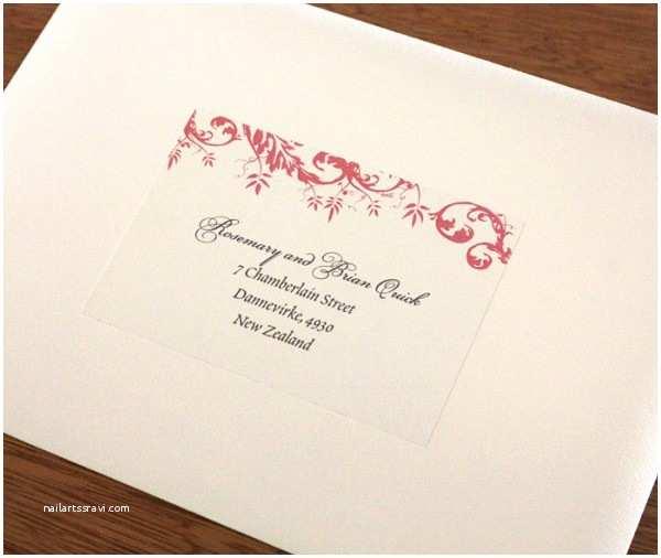 Wedding Invitation Labels Address Labels for Wedding Invitation Envelopes