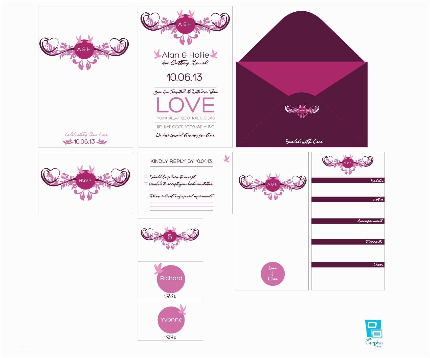 Wedding Invitation Layout Wedding Invitations Design