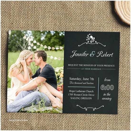 Wedding Invitation Maker with Photo Special Wednesday Unique Wedding Ideas