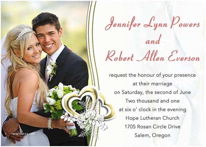 Wedding Invitation Maker with Photo top Album Wedding Invitation Maker