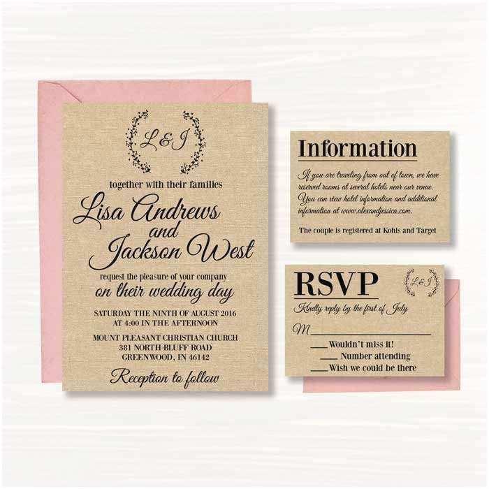 Wedding Invitation Maker with Photo Wedding Invitation Card Making Line Invitation