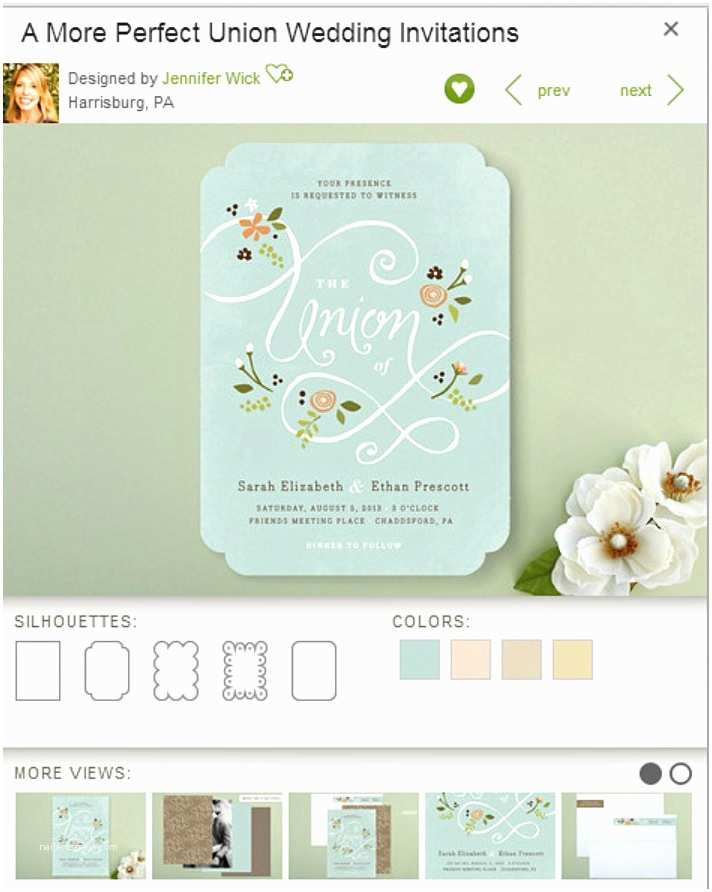 Wedding Invitation Minibook A Minted Giveaway Pretty Perfect Paper Fox Hollow Cottage