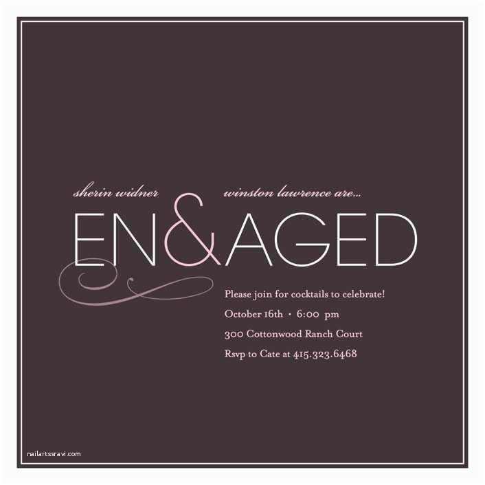 Wedding Invitation Minibook Engaged Engagement Party Invitations by Kelli Hall