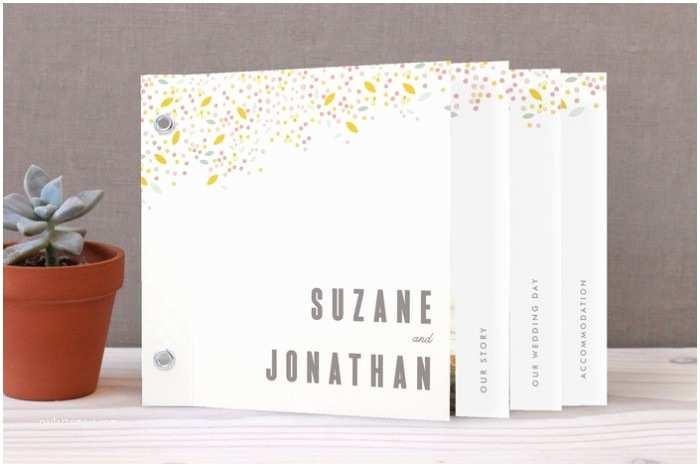 Wedding Invitation Minibook How to Select the Perfect Wedding Invitations