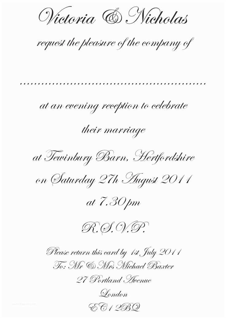 Wedding Invitation Msg 23 Best Images About Wedding Invitation Wording On