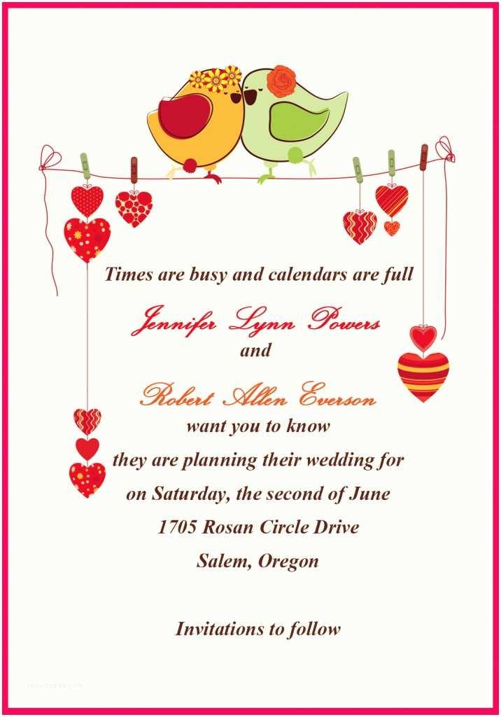 Wedding Invitation Msg Self Wedding Invitations Message for Friends Self Wedding