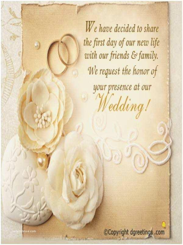 Wedding Invitation Msg Wedding Invitation Quotes For Friends In
