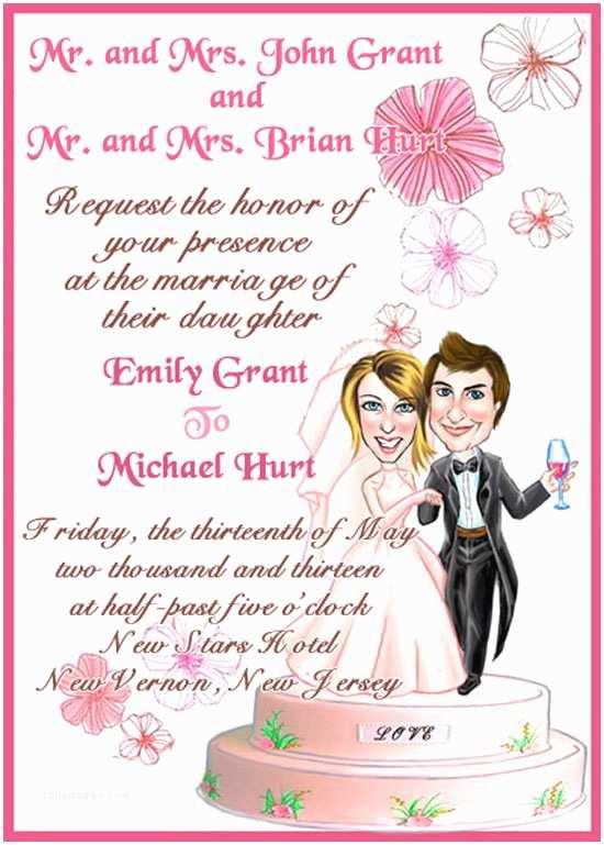 Wedding Invitation Msg Wedding Invite Wording Etiquette