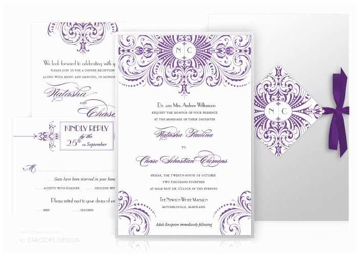 Wedding Invitation Name order Ready to order Custom Wedding Invitations Gatsby S Flouris