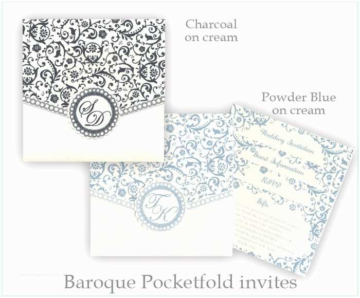 Wedding Invitation Name order We are Tickled Pink