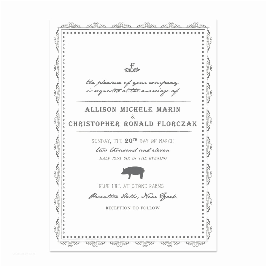 Wedding Invitation No Kids sorelle Paper & Prints Weddings