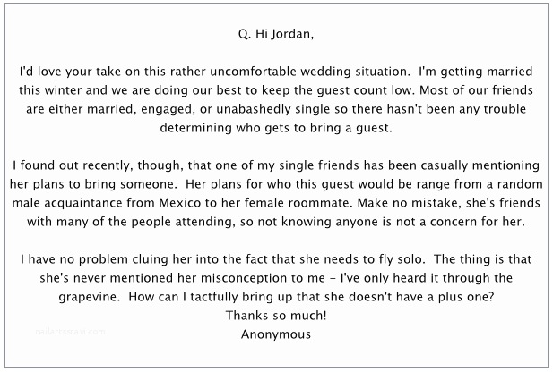 Wedding Invitation No Plus One How to Let Your Wedding Guests Know they Don T Get A Plus