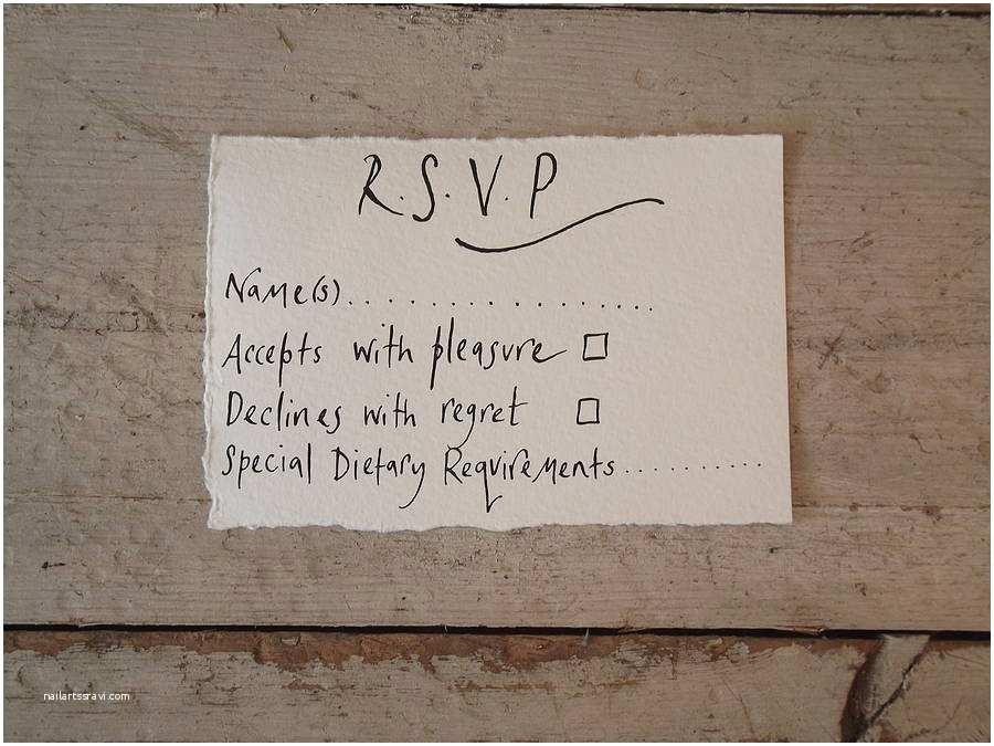 Wedding Invitation No Plus One How to Plete A Wedding Rsvp