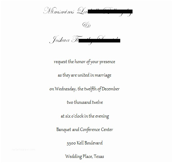 Wedding Invitation No Plus One Wedding Invitation Etiquette Plus E Wording Yaseen for