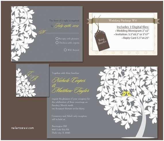 Wedding Invitation Package Deals Best Designing Wedding Invitations and Rsvp Cards Package
