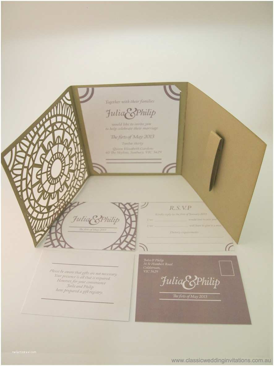 Wedding Invitation Package Deals Classic Wedding Invitations Moroccan Trifold Invitation