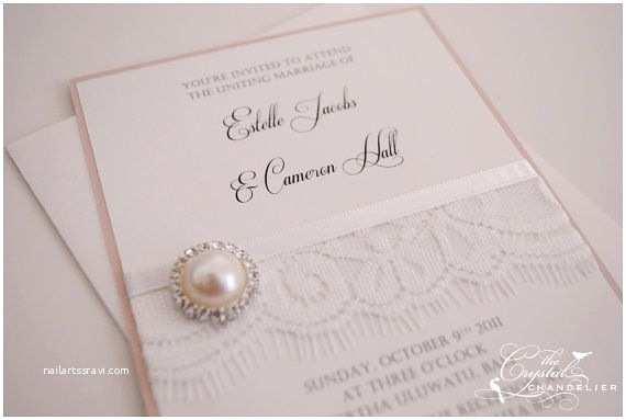 Wedding Invitation Package Deals Vintage Lace Wedding Invitation Package by by