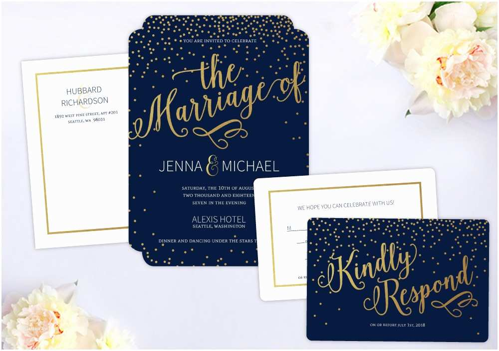 Wedding Invitation Package Deals Wedding Invitation Packages by Wedding Paperie