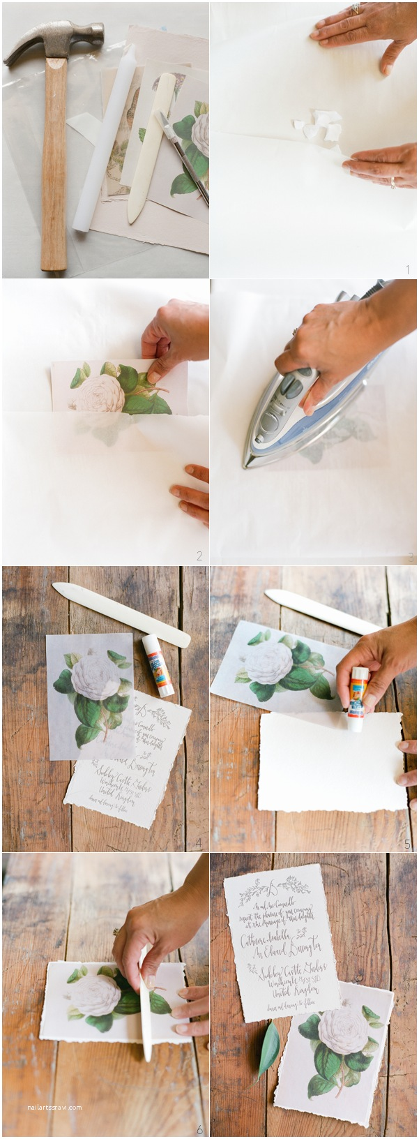 Wedding Invitation Paper Diy Wax Paper Wedding Invitations Ce Wed
