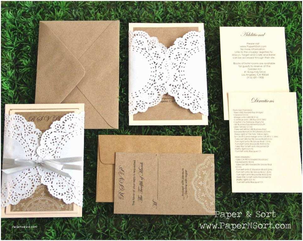 Wedding Invitation Paper Recycled Paper Invitations Wedding