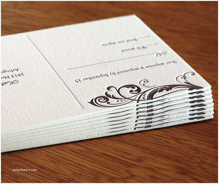 Wedding Invitation Paper Stock Double Thick Paper for Letterpress Wedding Invitations