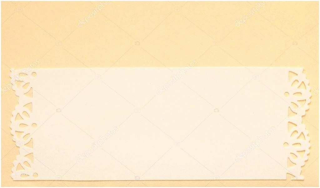Wedding Invitation Paper Stock Wedding Invitation Card Paper Cutting Design — Stock