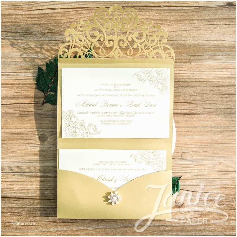 Wedding Invitation Paper wholesale Laser Cut Wedding Invites