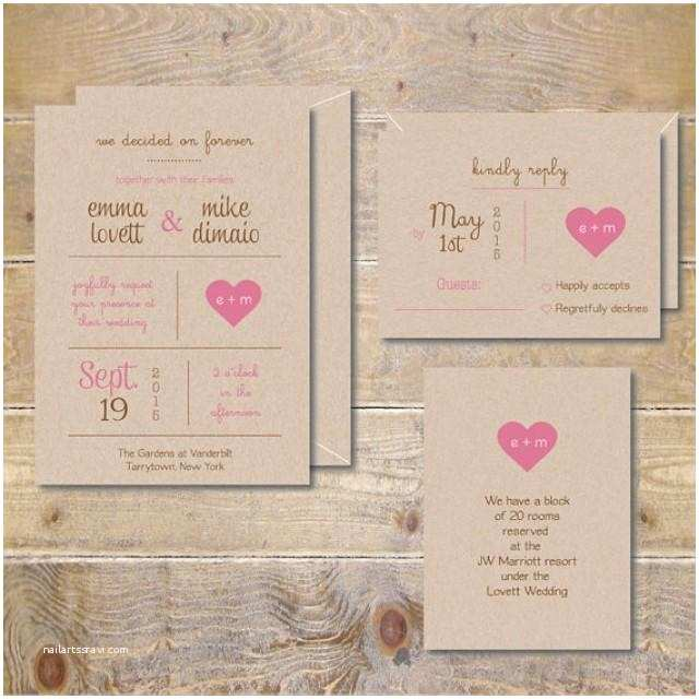 Wedding Invitation Pdf Printable Wedding Invitations Diy Wedding Invitations