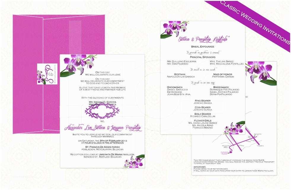 Wedding Invitation Philippines Invitations for Wedding Philippines