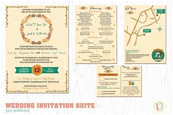 Wedding Invitation Philippines top 10 Bespoke Wedding Invitation Designers In the Philippines
