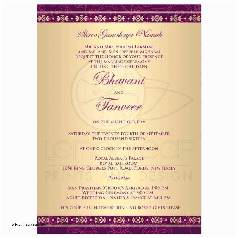 Wedding Invitation Phrases for Friends Wedding Invitation Inspirational Indian Wedding