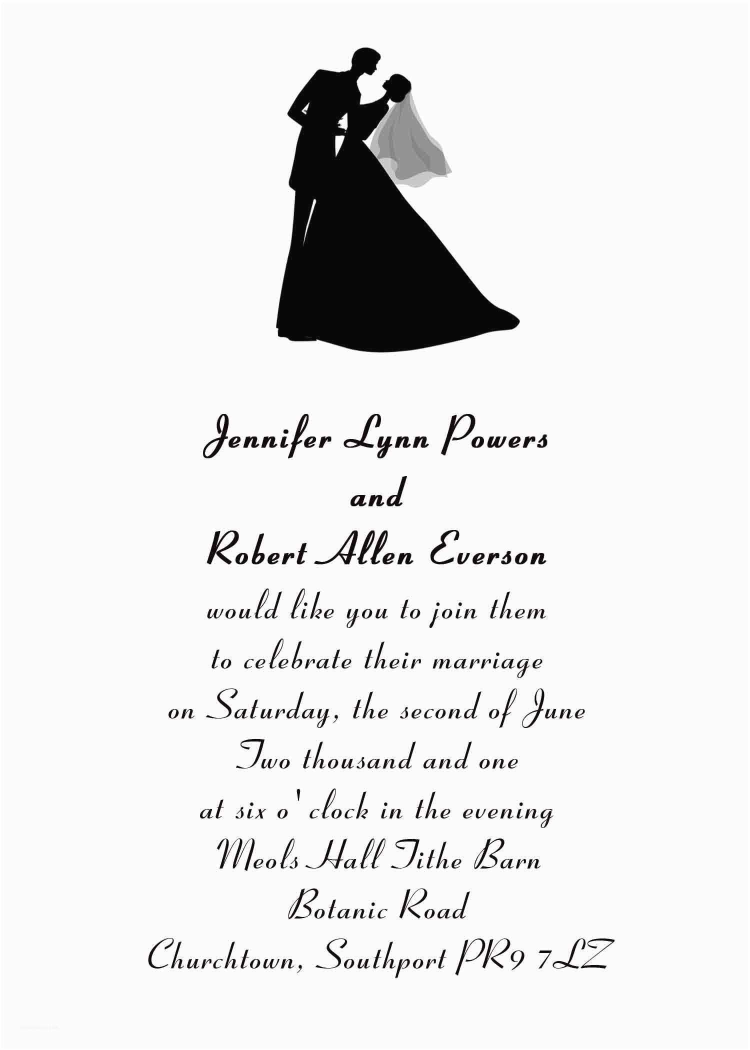 Wedding Invitation Phrases for Friends Wedding Invitation Quotes for Friends Cards Unique Lovable