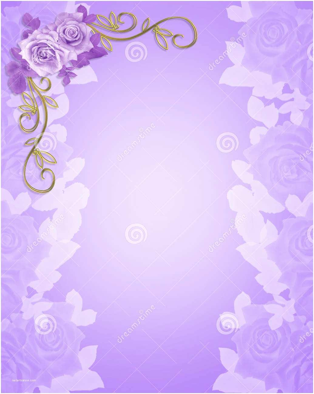 Wedding Invitation Pictures Background Wedding Invitation Background Designs Purple Yaseen for