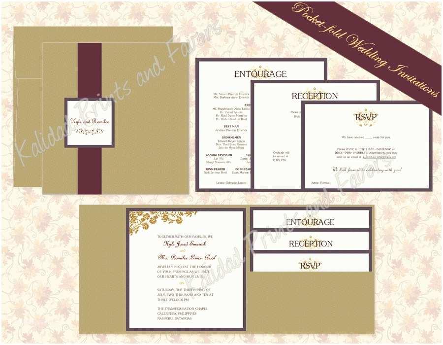 Wedding Invitation Pocket Envelopes Exclusive Wedding Invitations with Pockets