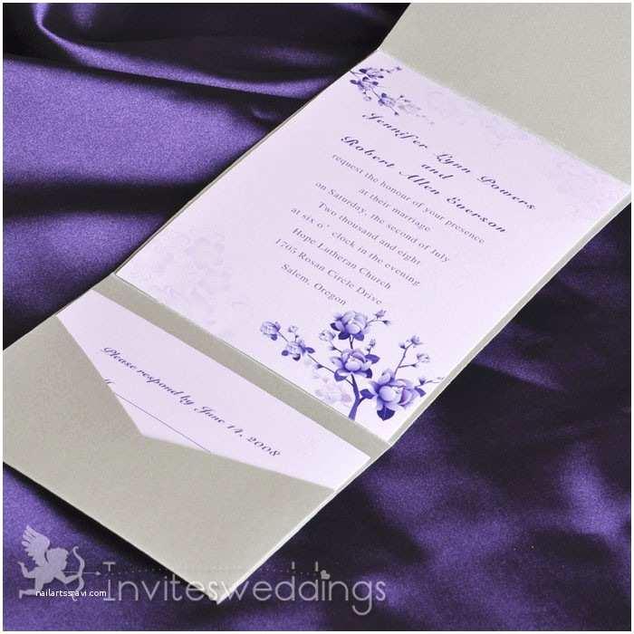 Wedding Invitation Pocket Envelopes Pocket Wedding Invitations