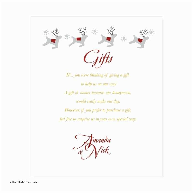 Wedding Invitation Poems Wedding Invitation Lovely Gift List Wording Wedding