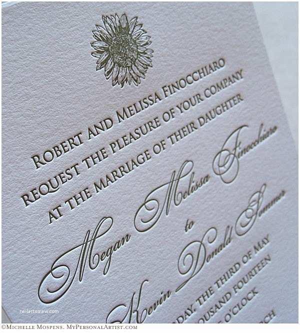 Wedding Invitation Printing 3 Types Of Wedding Invitation Printing Custom Save the