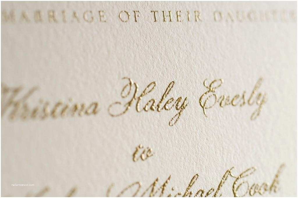 Wedding Invitation Printing A Guide to Wedding Invitation Printing Techniques