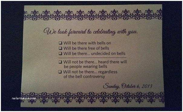 Wedding Invitation Response 9 Hilarious Wedding Invitations that Simply Can't Be Ignored