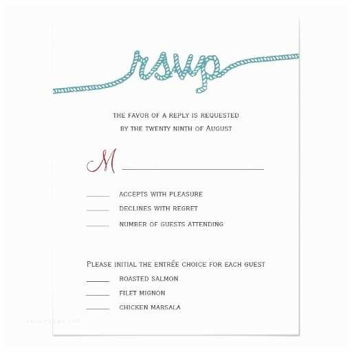 Wedding Invitation Response Card Tying the Knot Wedding Rsvp Cards Invitation Card
