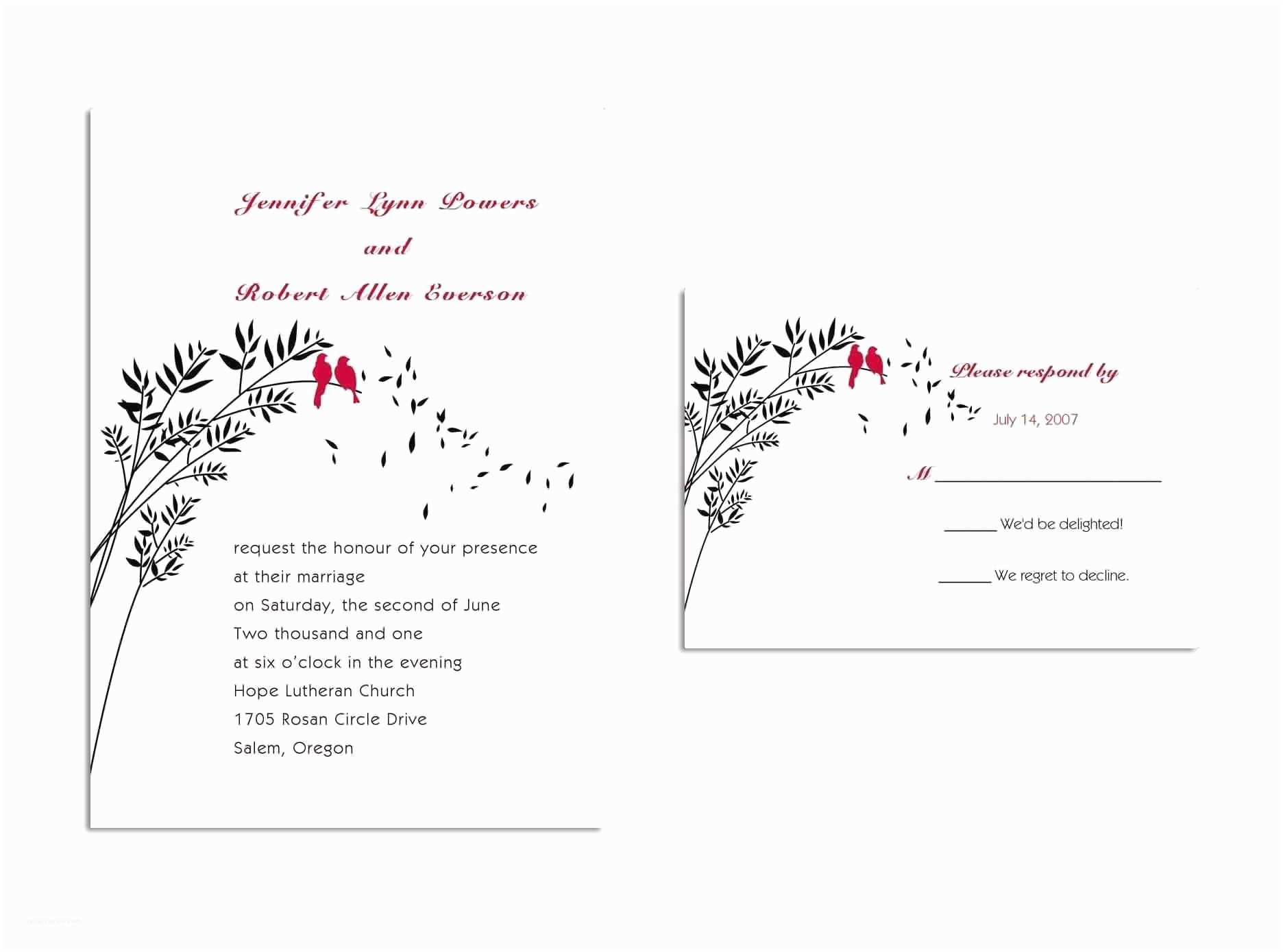 Wedding Invitation Response Card Wedding Invitations Response Cards Wedding Invitations