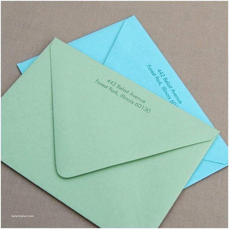 Wedding Invitation Return Address Etiquette Emily Weddings Invitation Etiquette