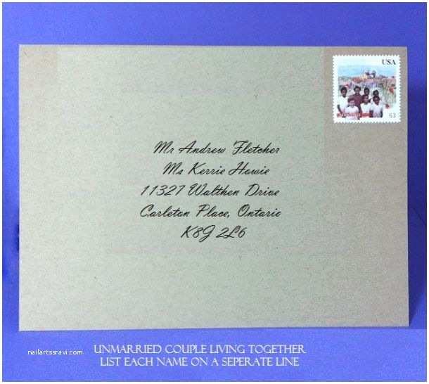 Wedding Invitation Return Address Etiquette Return Address for Wedding Invitations Bromente