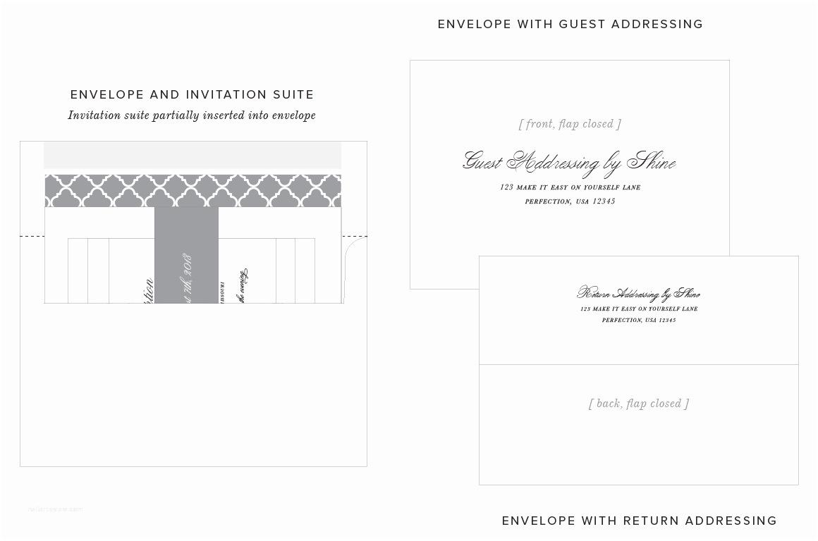 Wedding Invitation Return Address Etiquette Wedding Invitation Return Address format Yaseen for