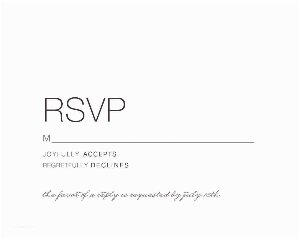 Wedding Invitation Rsvp Wording Samples event Invitation Wedding Invitations Reply Cards Card