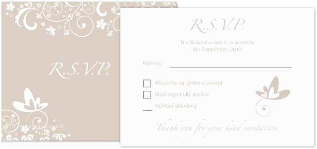 Wedding Invitation Rsvp Wording Samples Invitation Wedding Rsvp • istudio Publisher • Page