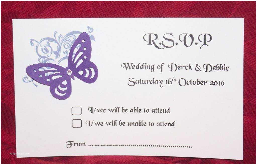 Wedding Invitation Rsvp Wording Samples Personalised Wedding Stationery Invites Menus Samples