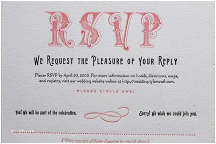 Wedding Invitation Rsvp Wording Samples Wedding Invitation Wording No Plus E Matik Rsvp